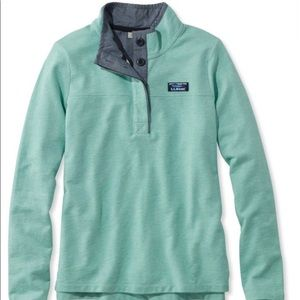 Women's L.L.Bean Rugby button up pullover